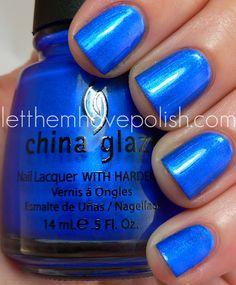 "China Glaze ""Frostbite"" Polish"