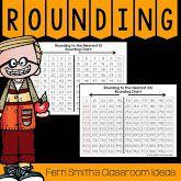 Fern Smith's Classroom Ideas Resources for Teaching Rounding to the Nearest Ten or Hundred for third grade math at TpT, TeacherspayTeachers. Rounding 3rd Grade, Third Grade Math, Fourth Grade, Second Grade, Rounding Games, Rounding Numbers, Substitute Folder, Math Round, Math Place Value
