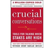 Crucial Conversations Tools for Talking When Stakes Are High, Second Edition by Kerry Patterson, Joseph Grenny, Ron McMillan, Al Switzler 0071771328 9780071771320 Reading Lists, Book Lists, Reading Room, Crucial Conversations, Highly Effective People, Leadership Development, Professional Development, Communication Skills, Leadership Summit