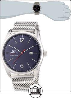Lacoste 2010841 - Reloj de silicona para hombre, color blanco  ✿ Relojes para hombre - (Gama media/alta) ✿