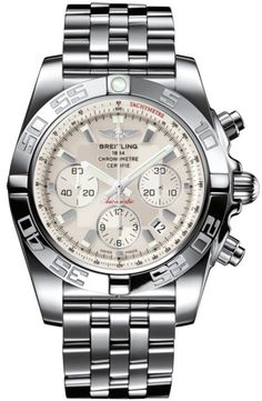 @breitling Watch Chronomat 44 Sierra Silver Pilot Bracelet #add-content #bezel-unidirectional #bracelet-strap-steel #brand-breitling #case-depth-16-95mm #case-material-steel #case-width-44mm #chronograph-yes #cosc-yes #date-yes #delivery-timescale-1-2-weeks #dial-colour-silver #gender-mens #luxury #movement-automatic #official-stockist-for-breitling-watches #packaging-breitling-watch-packaging #style-sports #subcat-chronomat #supplier-model-no-ab011012-g684-375a…