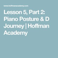 Power up your fingers as pianist Joseph Hoffman teaches your first piano exercise. Part 1 of For ages Joseph Hoffman, Piano Exercises, Piano Lessons For Beginners, Journey, Teaching, The Journey, Education, Onderwijs, Learning