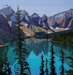 Justina is an artist based in Vermilion, Alberta. Illustration Art, Collage, Artist, Painting, Collages, Artists, Painting Art, Paintings, Collage Art