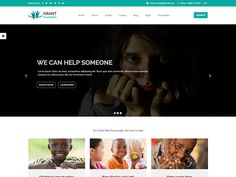 Grant Foundation – Nonprofit Charity Template is fully hand crafted, simple, flat and clean with huge features template which build by Bootstrap.  More Details:https://devitems.com/item/grant-foundation-nonprofit-charity-template/