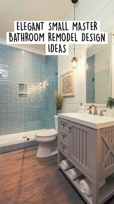 Bathroom Organization, Bathroom Storage, Small Bathroom, Master Bathroom, Rustic Bathroom Designs, Modern Bathroom Design, Bathroom Interior Design, Upstairs Bathrooms, Bath Remodel