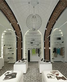 Arzu Kaprol store in Istanbul by Autoban (I lovvvve Autoban!!!) - the bricked archways are just immense.
