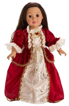 American Girl dolls international costumes | ... -Winter-Belle-15-20-Doll-Princess-Christmas-Costume-Little-Adventures