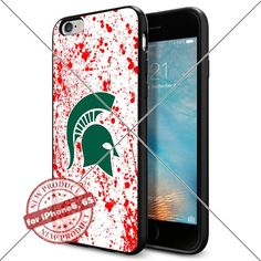 WADE CASE Michigan State Spartans Logo NCAA Cool Apple iPhone6 6S Case #1302 Black Smartphone Case Cover Collector TPU Rubber [Blood] WADE CASE http://www.amazon.com/dp/B017J7DB6Q/ref=cm_sw_r_pi_dp_XxFvwb1ES1ZZR