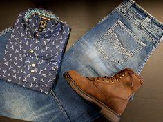 La nouvelle chemise Noble pour homme ne restera pas longtemps...dépêchez-vous! Westerns, Timberland Boots, Shoes, Fashion, Western Wear, Baby Born, Dress Shirt, Moda, Zapatos