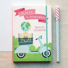 Travel Pocket Journal by Galison | Fox and Star