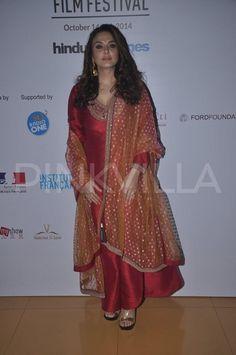 Preity Zinta and Huma Qureshi at Mumbai Film Festival | PINKVILLA
