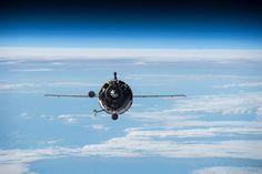 Three International Space Station crew members are set to return aboard the Soyuz TMA-16M spacecraft.