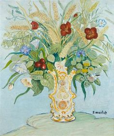 Elisee Maclet -- bouquet of flowers french--1881-1962   Cozyhuarique