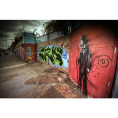 Grafton Street Graffiti III | Formidable Photography : A Liverpool... ❤ liked on Polyvore featuring art