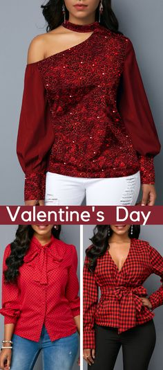 It takes time to pick Valentines Day outfits, and it is not surprising. Every woman wants to look flawless when celebrating this romantic holiday. Fresh Outfits, Fall Outfits, Casual Outfits, Cute Outfits, Fashion Outfits, Beautiful Outfits, Fashion Tips, Fashion Trends, Love Fashion