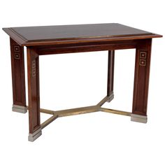 Koloman Moser Attributed Portois & Fix  Vienna Secession Center Table circa 1902 | From a unique collection of antique and modern tables at http://www.1stdibs.com/furniture/tables/tables/