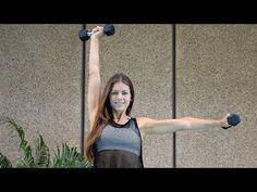 29 mins - Full Body Workout-  Total Body Strength Training At Home  - Full Body Workout With Dumbbells - YouTube