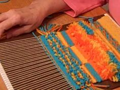 Learn weaving techniques