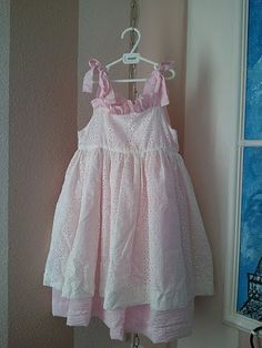 Girl's Pinafore Dress by camoozle on Etsy, $15.00