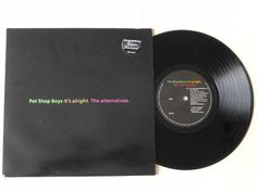Pet Shop Boys It s Alright The Alternatives  10  Vinyl with Poster 10R 6220 1989