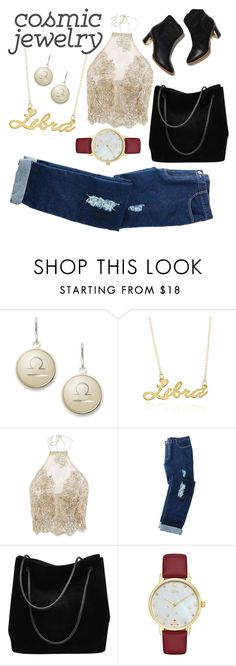 """""""Libra~"""" by barbichel ❤ liked on Polyvore featuring Alex and Ani, Belk & Co., Avon, Gucci and Kate Spade"""