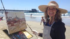 Michele Byrne - Plein Air Painting Artist share her story and her experi...