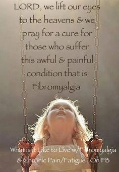 We pray relief for all who suffer with this dreadful pain . . .