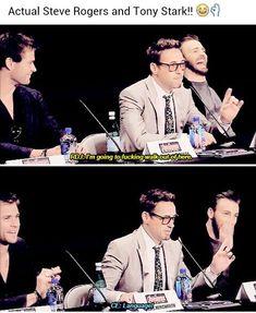 Phyllis saved to artsyRobert Downey Jr. Is Tony Stark In Real Life Fukin Proof] - Avengers Humor, Avengers Cast, Funny Marvel Memes, Dc Memes, Marvel Jokes, Marvel Dc Comics, Marvel Avengers, Stark Tower, Sherlock