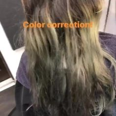 """FAN SHARE: PIGMENTS COLOR CORRECT  Megan Rushe from Tops Salon in Mission Hills recently started playing with Alfaparf Milano PIGMENTS, really putting them to the test in a color correction scenario. """"This was a blast of a color correction today! May seem simple to some could just slap some dark on it and call it a day but who knows how the hair will fade out after that!?!?! So thanks to the amazing @alfaparfusa pigments I could fill the hair and make that color stick a little bit better!"""