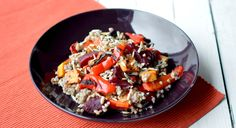 Buckwheat and Roasted Vegetable Medley