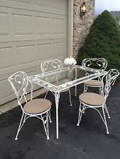 wrought iron vintage 1940u0027s garden table u0026 chairs