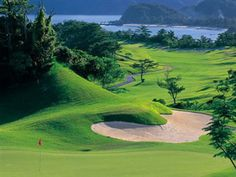 Kanucha Bay golf course, Japan