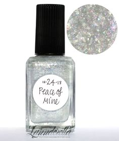 Lynnderella Limited Edition Nail Polish—December 24. Peace of Mine
