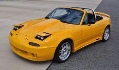 Miata for sale Monster Miata, Mx5 Na, Mazda Miata, Orange, Yellow, Cars, Vehicles, Design, Autos