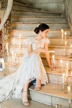 Wedding Dress: Claire Pettibone…
