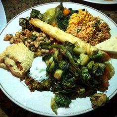 Veggie Platter @ Cafe Zuppina - Lakeland, FL