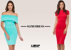Every woman loves to flaunt her curves and no outfit can be better than slim fit dresses for doing so. The amazing dresses offer a slim fit as they glide down, offering a slender silhouette that every woman desires.