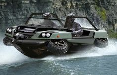 Half Car, Half Boat May Crack U. Military Market - Cars and motor Jet Ski, Hors Route, Amphibious Vehicle, Buy A Boat, Bug Out Vehicle, Armored Vehicles, Water Crafts, Concept Cars, Military Vehicles