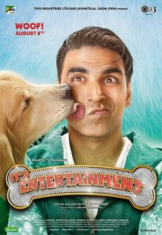 It's Entertainment (2014) Brand New Poster Feat Akshay Kumar