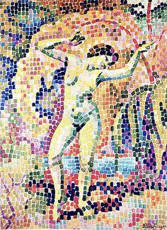 La Dance Jean Metzinger Oil on Canvas, 1906