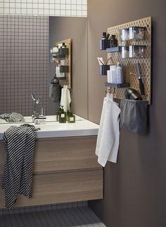 GODMORGON / ODENSVIK kast voor wastafel met 2 lades | IKEA IKEAnl IKEAnederland inspiratie wooninspiratie interieur wooninterieur badkamer douche opbergen spiegel opberger kraan tegels bad handdoek toilet kast