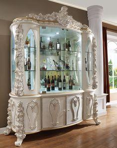 Dressing Table, Liquor Cabinet, China Cabinet, Room Decor, Wallpaper, Storage, Sofa, Display, Interior