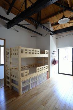子供部屋(62.石川町の部屋) - 子供部屋事例|SUVACO(スバコ)