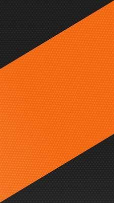 Orange and Black Stripes