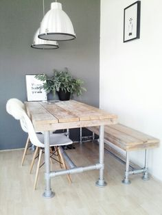 industrial pipe dining