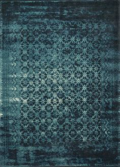 Loloi Journey Indigo/Blue Transitional Rug from the Assorted Transitional Rugs collection at Modern Area Rugs Transitional Area Rugs, Clearance Rugs, Rug Texture, Lounge, Textiles, Modern Area Rugs, Rugs Usa, Blue Area Rugs, Blue Rugs