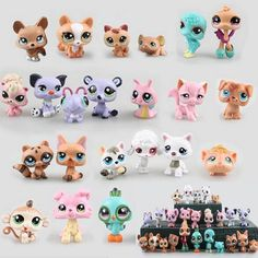 24.43$  Buy now - http://ali67x.shopchina.info/go.php?t=32672584888 - 25pcs/lot Littlest Pet Shop Anime Cute Animals Action Figure Collection Toys 24.43$ #buychinaproducts