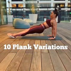 10 different plank exercise, plank workout for women, plank abs workout at home - Fitness - workouts - Fitnesstipps Plank Ab Workout, Ab Workout At Home, At Home Workouts, Dumbbell Workout, Fat Workout, Stairmaster Workout, Abdominal Workout, Flat Tummy Workout, Extreme Workouts