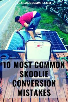 Converting a skoolie can be a daunting process, but after building a bus of my own and talking to hundreds of other bus and van dwellers on the road, I've compiled a list of the most common mistakes that people make, and why and how to avoid them. School Bus Tiny House, School Bus Camper, Rv Bus, Magic School Bus, Bus Life, Camper Life, Bus Remodel, Minibus, Converted School Bus