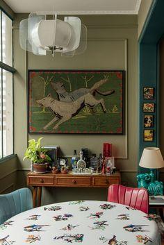 Casa vintage e exótica (Foto: Arthur Rosa)